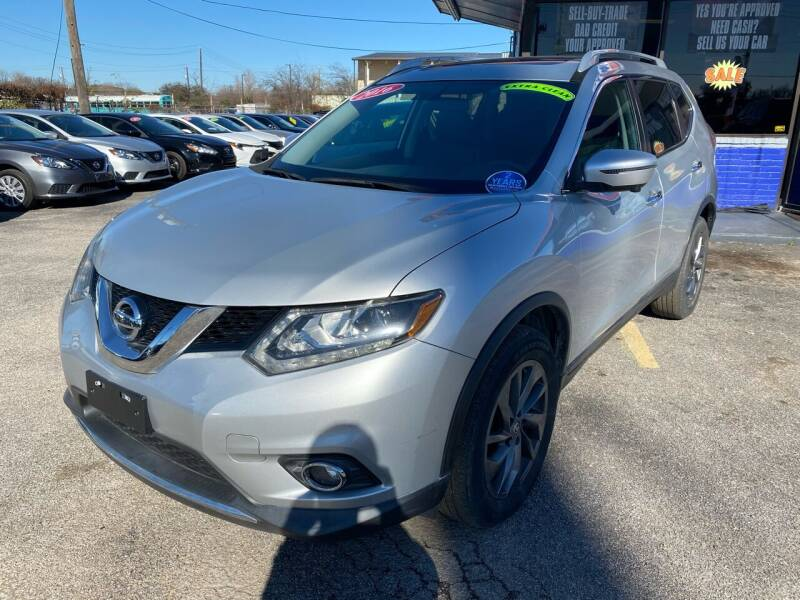2016 Nissan Rogue for sale at Cow Boys Auto Sales LLC in Garland TX