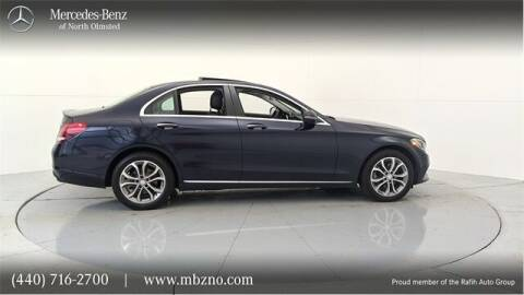 2016 Mercedes-Benz C-Class for sale at Mercedes-Benz of North Olmsted in North Olmsted OH