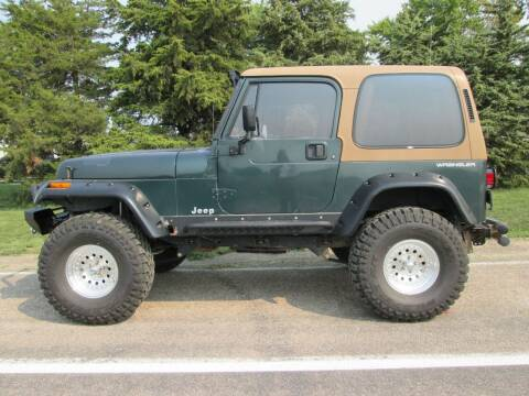 1994 Jeep Wrangler for sale at Joe's Motor Company in Hazard NE