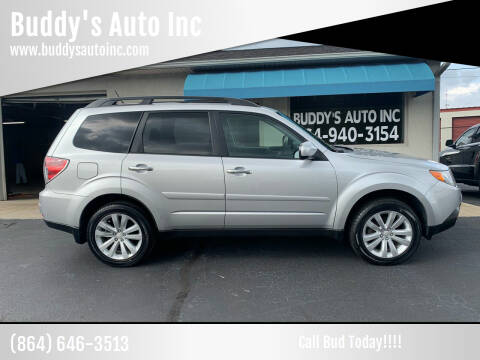 2011 Subaru Forester for sale at Buddy's Auto Inc in Pendleton, SC