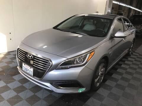 2017 Hyundai Sonata Plug-in Hybrid for sale at CENTURY MOTORS - Fresno in Fresno CA