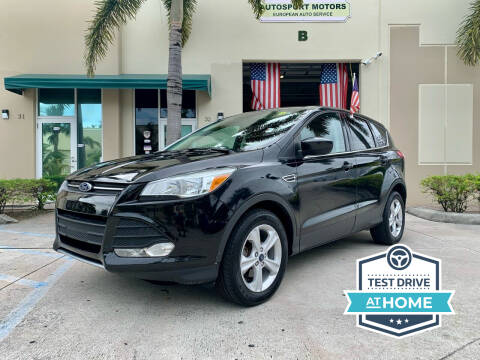 2015 Ford Escape for sale at AUTOSPORT MOTORS in Lake Park FL