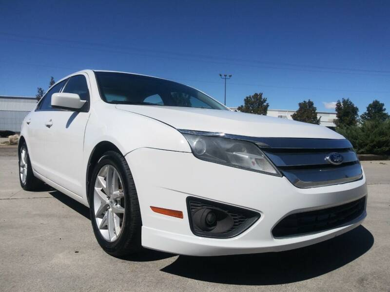 2011 Ford Fusion for sale at AUTOMOTIVE SOLUTIONS in Salt Lake City UT