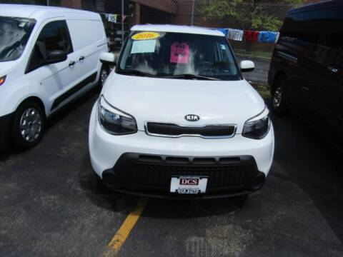 2016 Kia Soul for sale at DCS Auto Sales in Milwaukee WI