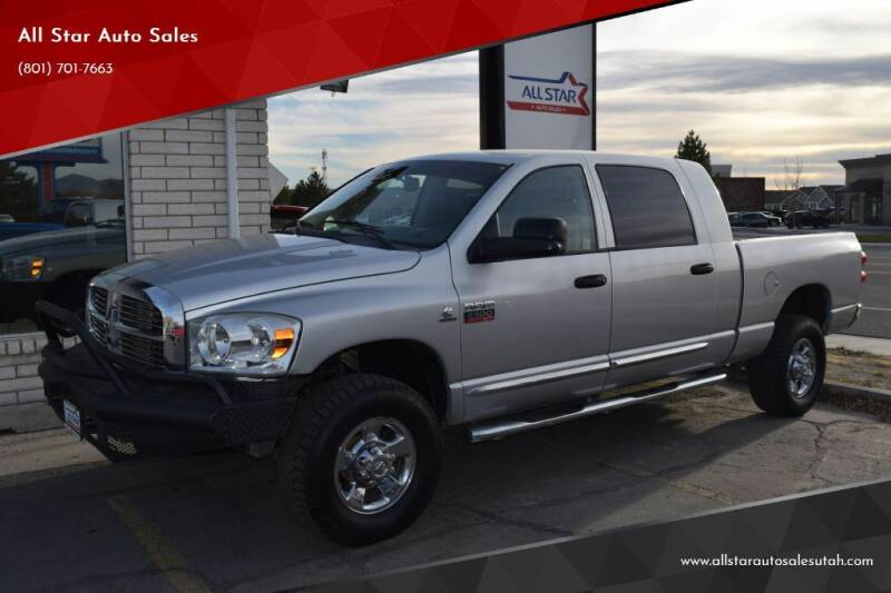 2008 Dodge Ram Pickup 2500 for sale at All Star Auto Sales in Pleasant Grove UT
