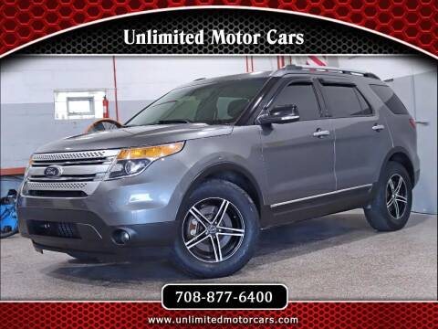 2014 Ford Explorer for sale at Unlimited Motor Cars in Bridgeview IL
