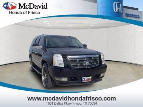 2008 Cadillac Escalade for sale at DAVID McDAVID HONDA OF IRVING in Irving TX