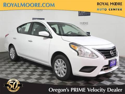2019 Nissan Versa for sale at Royal Moore Custom Finance in Hillsboro OR