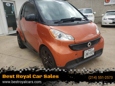 2014 Smart fortwo for sale at Best Royal Car Sales in Dallas TX
