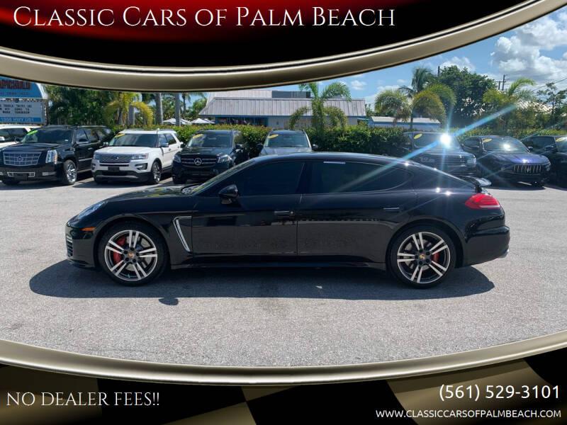 2014 Porsche Panamera for sale at Classic Cars of Palm Beach in Jupiter FL