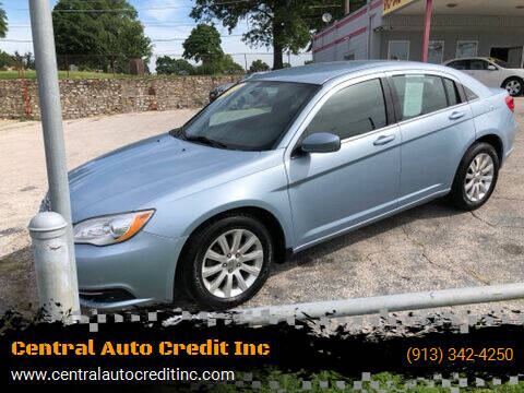 2013 Chrysler 200 for sale at Central Auto Credit Inc in Kansas City KS