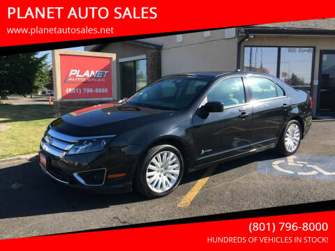 2011 Ford Fusion Hybrid for sale at PLANET AUTO SALES in Lindon UT