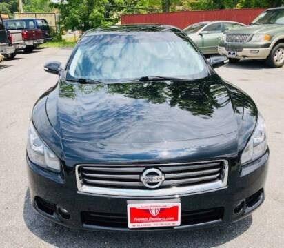 2012 Nissan Maxima for sale at Fuentes Brothers Auto Sales in Jessup MD