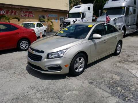 2016 Chevrolet Cruze Limited for sale at VALDO AUTO SALES in Hialeah FL