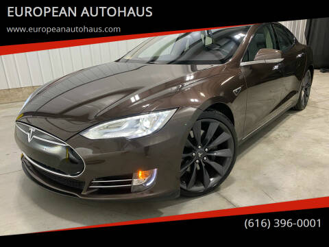 2013 Tesla Model S for sale at EUROPEAN AUTOHAUS in Holland MI