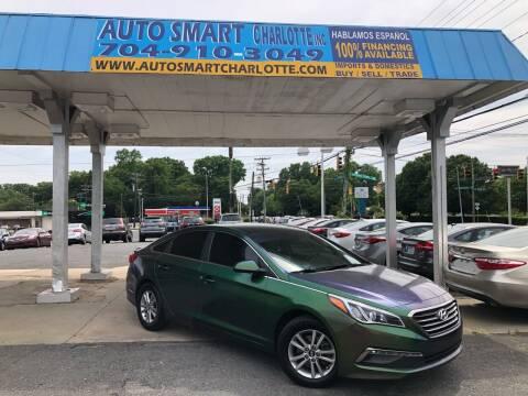 2015 Hyundai Sonata for sale at Auto Smart Charlotte in Charlotte NC