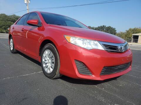 2012 Toyota Camry for sale at Thornhill Motor Company in Lake Worth TX