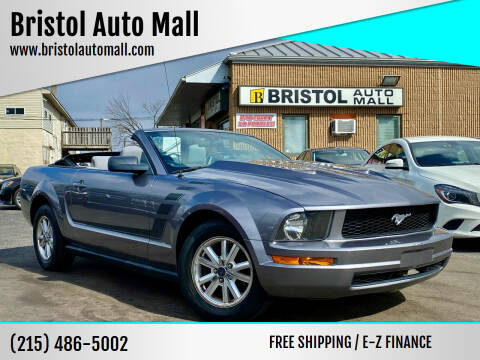 2007 Ford Mustang for sale at Bristol Auto Mall in Levittown PA