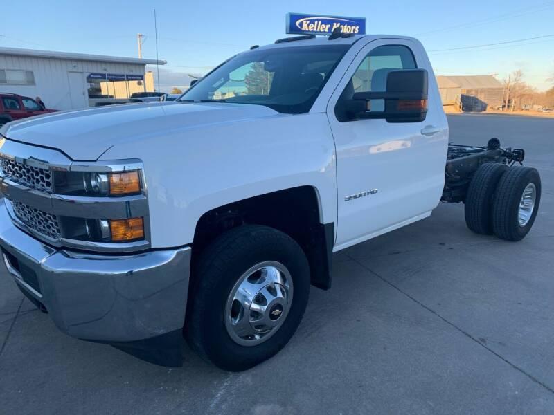 2019 Chevrolet Silverado 3500HD CC for sale at Keller Motors in Palco KS