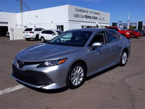 2018 Toyota Camry for sale at Camelback Volkswagen Subaru in Phoenix AZ