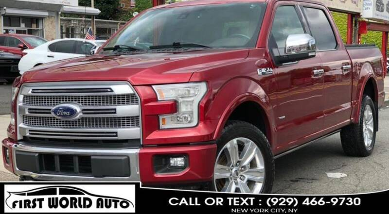 2017 Ford F-150 for sale at First World Auto in Jamaica NY