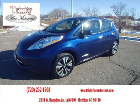 2017 Nissan LEAF for sale at TRINITY FINE MOTORCARS in Sheridan CO