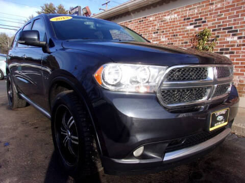 2013 Dodge Durango for sale at Certified Motorcars LLC in Franklin NH