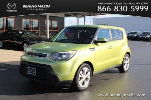 2015 Kia Soul for sale at Bening Mazda in Cape Girardeau MO