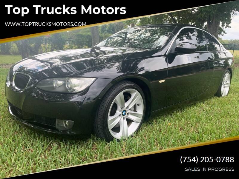 2007 BMW 3 Series for sale at Top Trucks Motors in Pompano Beach FL