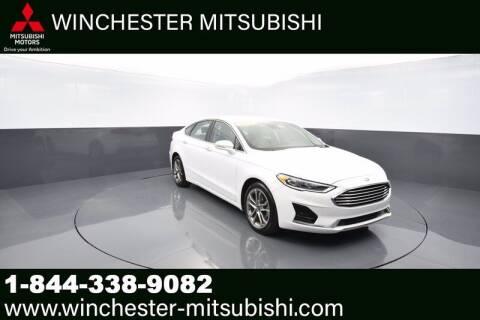 2019 Ford Fusion for sale at Winchester Mitsubishi in Winchester VA