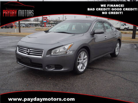 2014 Nissan Maxima for sale at Payday Motors in Wichita And Topeka KS