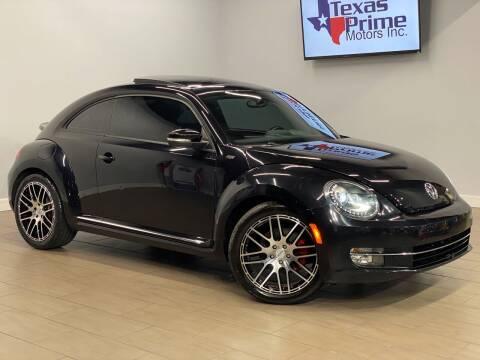 2013 Volkswagen Beetle for sale at Texas Prime Motors in Houston TX