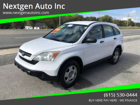 2008 Honda CR-V for sale at Nextgen Auto Inc in Smithville TN