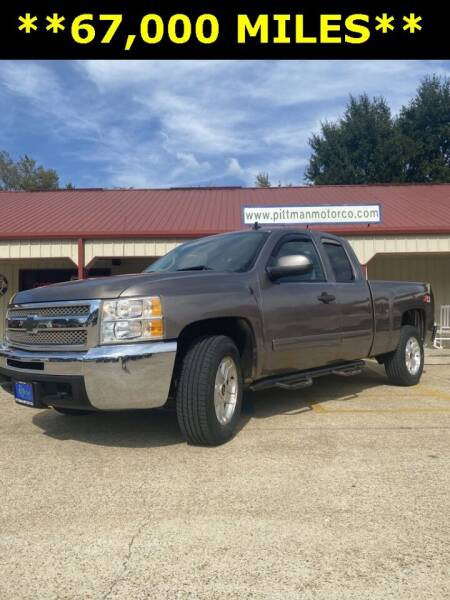 2013 Chevrolet Silverado 1500 for sale at PITTMAN MOTOR CO in Lindale TX