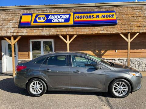 2018 Ford Focus for sale at MOTORS N MORE in Brainerd MN