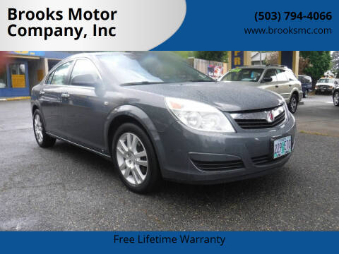 2009 Saturn Aura for sale at Brooks Motor Company, Inc in Milwaukie OR