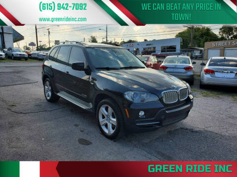 2010 BMW X5 for sale at Green Ride Inc in Nashville TN
