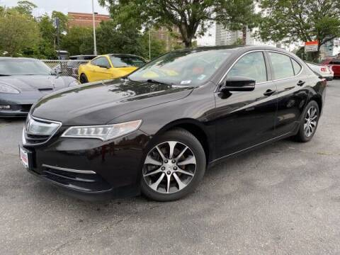 2015 Acura TLX for sale at Sonias Auto Sales in Worcester MA