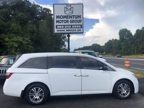 2012 Honda Odyssey for sale at Momentum Motor Group in Lancaster SC