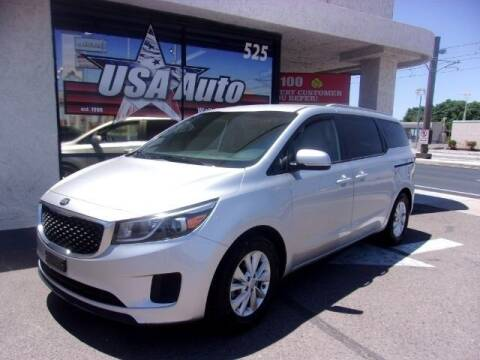 2016 Kia Sedona for sale at USA Auto Inc in Mesa AZ