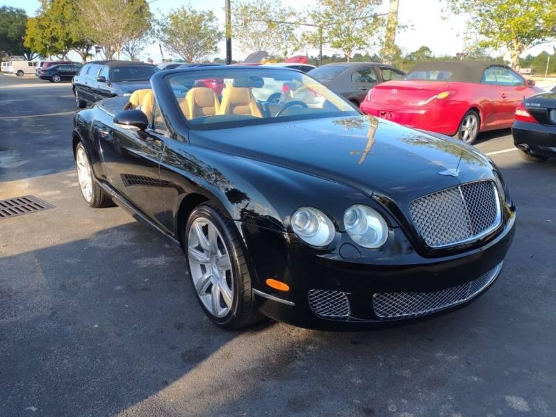 2007 Bentley Continental for sale at LAND & SEA BROKERS INC in Deerfield FL