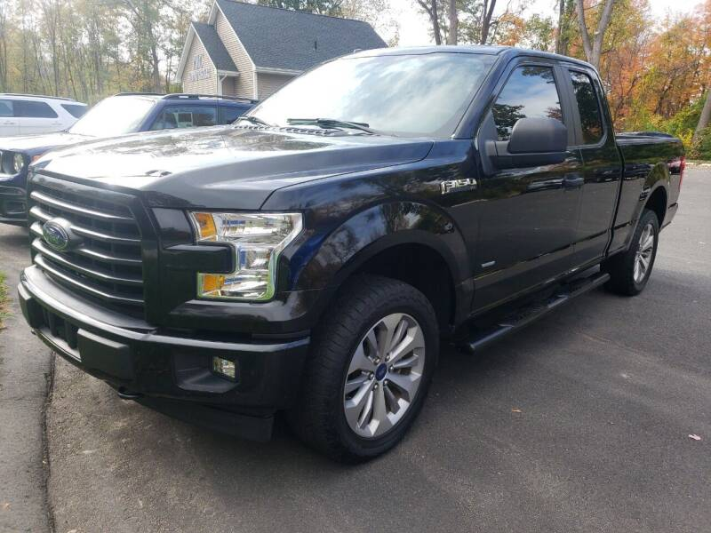 2017 Ford F-150 for sale at KLC AUTO SALES in Agawam MA