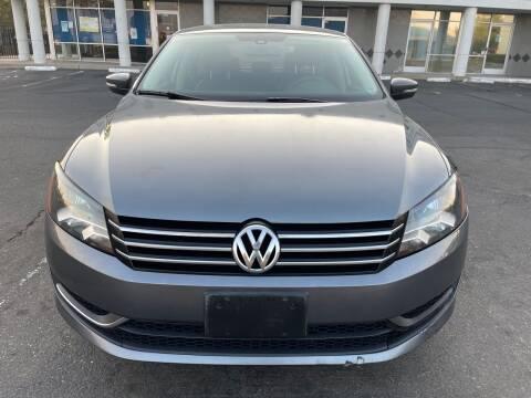 2014 Volkswagen Passat for sale at SACRAMENTO AUTO DEALS in Sacramento CA