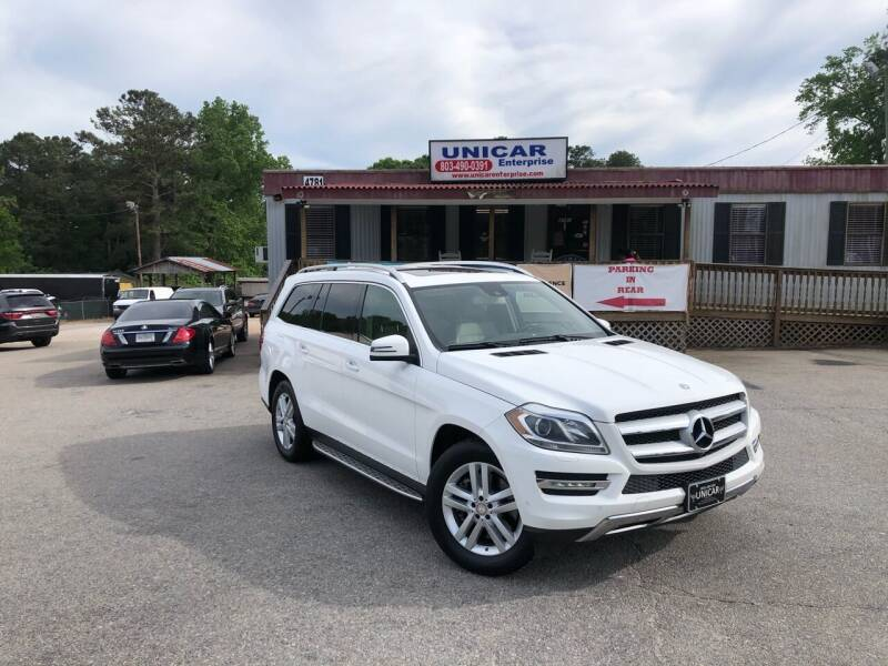 2014 Mercedes-Benz GL-Class for sale at Unicar Enterprise in Lexington SC