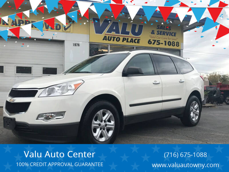 2012 Chevrolet Traverse for sale at Valu Auto Center in West Seneca NY