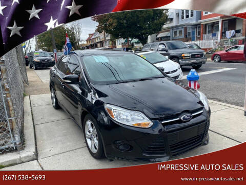 2014 Ford Focus for sale at Impressive Auto Sales in Philadelphia PA