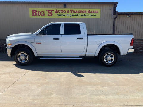 2012 RAM Ram Pickup 2500 for sale at BIG 'S' AUTO & TRACTOR SALES in Blanchard OK