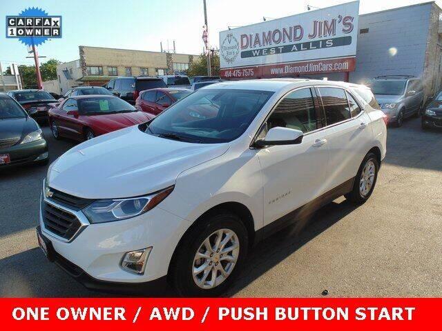 2019 Chevrolet Equinox for sale at Diamond Jim's West Allis in West Allis WI