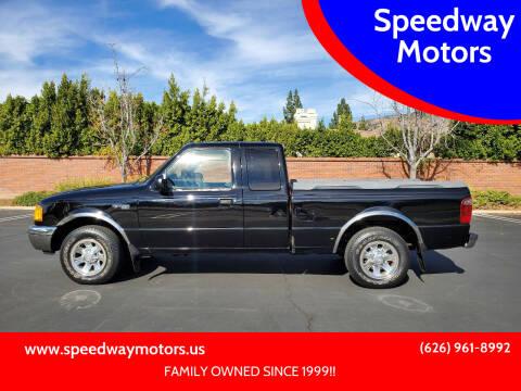 2001 Ford Ranger for sale at Speedway Motors in Glendora CA