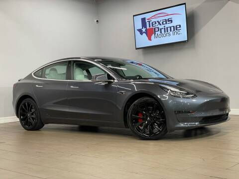 2018 Tesla Model 3 for sale at Texas Prime Motors in Houston TX